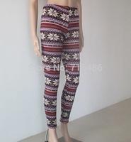 ML7583 Free Shipping Women Leggings Winter  Warm Pants Cashmere Snow Trousers Galaxy leggings
