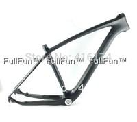 FULLFUN Carbon Frame 29er 15.5''/17.5''/19''/21'' Mountain Bike Full Carbon Frame 3K Matte 31.6mm BB30/BSA 29'' 1-1/8'' 1-1/2''
