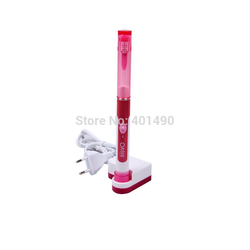Компактный и молчание b tb-1017 oem электрическая зубная щётка бренды