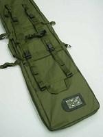 48 inch SWAT Dual Tactical Rifle Carrying Case Gun Bag OD