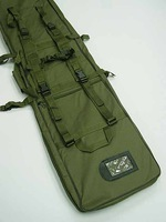 48 inch SWAT Dual Tactical Rifle Carrying Case Gun Bag OD