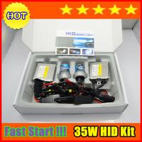 Freeshipping DHL 5sets per lot,fast start working hid kit 35w h1 h3 h7 h8 h9 h10 h11 9005/hb3 9006/hb4 880/881 h27 ID205297