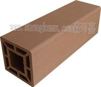 9090 wpc fencing column ,waterproof and moistureproof