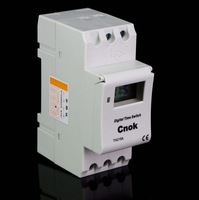 DIN RAIL DIGITAL PROGRAMMABLE Timer 12V 16A TIME RELAY