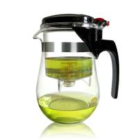 1000 ML elegant glass tea pot with filter teapot set, office coffee pot ,modern tea cup Christmas gift present Free shipping!!!