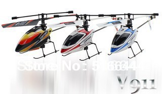 4CH 4-Channel 2.4GHz RC Mini Gyro V911 Helicopter Single Radio Propeller BNF Free Shipping