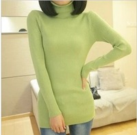 highquality  new sweater turn-down collar female sweater