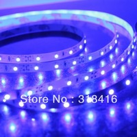 5M 3528 LED Strip Light 60 LED DC12V 20W Non Waterproof RGB Strip Light for Holiday + 24 Key Controller + Control Box