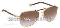 2012 New brand In original box conspiration pilote canvas gold and silver Sunglasses leisure series men's