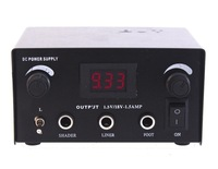 free shipping Digital Dual iron Steel Tattoo Power Supply