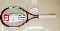 W red full carbon aluminum tennis rackets one piece 4 1/4 #2