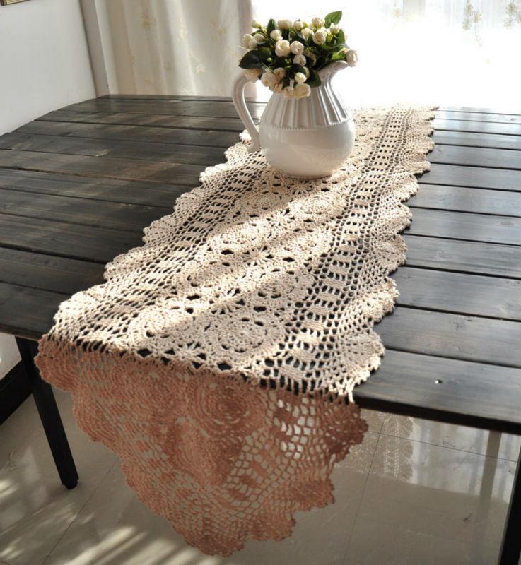 Free Vintage Crochet Table Runner Patterns Microfinanceindia