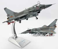 Free shipping 1:60 Alloy military plane model Chinese j10 fighter plane model