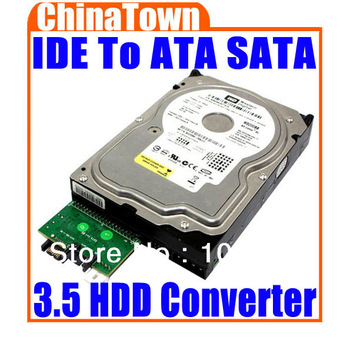 IDE To Serial ATA SATA for 3.5 HDD PC Adapter Converter Free Shipping + Drop Shipping