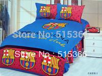 Free Shipping 100% cotton reactive print child 3 pcs bedding set one bedcover+ two pillowslip textile carton-5