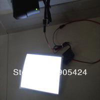 white light el panel sheet a6 with DC12V driver inverter