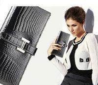 wholesales Free shipping Women's purse new lady wallet drape leather purse kraft fire layer wallets