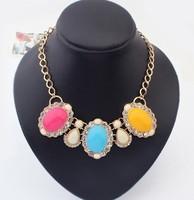 Newest necklace jewelry,Latest fashion design, Fashion retro jewel Necklace