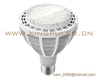 NEW! 10pcs/lot fins cooling par30 30W LED spot light, 3000~3100LM led lamp.