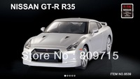 free shipping MJX  1:14 GTR R35 Sports rc car 8539 christmas gift children toy   remote contral toy