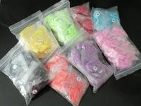 10Bags 500Pcs each color (bag)Mixed  Colorful Fake False Nail articial Nail Tips For Nail Tips Decoration Supply