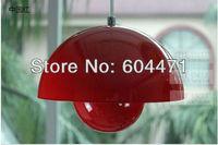 Free shipping modern lamp  red  UFO pendant light  one piece