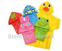 Free shipping!! Animal Raincoat Linda / Children's Raincoat / Kids Rain Coat / Children's rainwear / Baby Raincoat