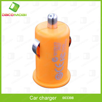 Mini Car Charger for iPhone 4 4S for iPod USB Interface 50Pcs/Lot China Post Free Shipping