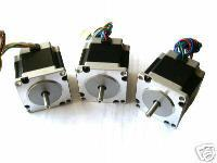3 PCS, 2 phase, 4-Leads 20Kgcm 1.8Degre 78mm CNC NEMA 23 Stepper Motor of Wantai, 3D Printer