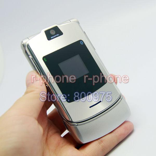 Hot Sale Classic Unlocked Original Motorola RAZR V3i Mobile Cell Phone Refurbished 2G GSM Phone(China (Mainland))