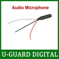 DC Power Wide Range Mic Audio Microphone For CCTV Mic Audio Cameras DVR System- free shipping