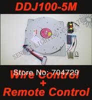 [NEW] Crystal Chandelier Lift Lighting Lifter Chandelier Hoist Chandelier Winch DDJ100-5m 110V-240V Wire Control +Remote Control