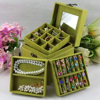 free shipping Jewelry box princess South Korea Europe type wedding gift birthday gift box storage box