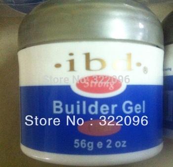 free shipping retail low price Acrylic Nail Art UV Gel nail saloon profesional nail art IBD Builder Gel 2oz / 56g mix color ok