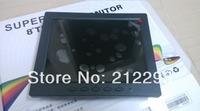 "New launched ! 8""  cctv camera Monitor with AV/VGA/BNC input for CCTV camera+  free shipping"