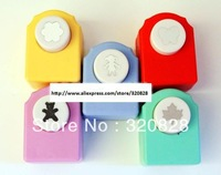 Free shipping 10pcs/lot 18mm craft paper punch/Lovely embossing machine/DIY Craft hole punch greeting cards tool scrapbooking