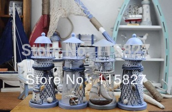 Promotion!Mediterranean style lantern Candle Holder house or shop decoration  artcraft