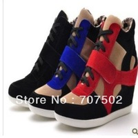 2012 Isabel Marant Women's Sneakers wedges casual shoes free ship cost hight quality shoes,3 colors