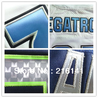 Custom Football Jerseys-Free/Fast Shipping,Sewn On 2012 New Brand Customized Football Elite Jerseys,Size:40,44,48,52,56,60