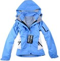 PIZEX Free shipping High quality Female Brand Outdoor Double Layer Windproof Waterproof Ski Skiing Jacket