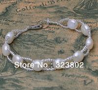 Freshwater Beaded Pearl Jewelry Ladies Womens Girls Bracelet