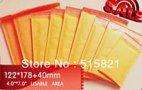 """Whole SALE--Kraft  Bubble Envelopes Mailer Air Bags 122mm x 218mm (4x8"""") 130PCS/pak"""