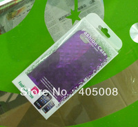 2012 new transparent case package new plastic retail package  bagfor iphone 5 5g  mobile phone free shipping