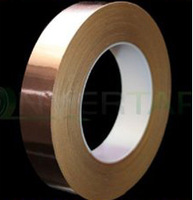 Free shipping  25MM X 30M Single Conductive COPPER FOIL TAPE Strip