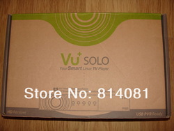 Cheapest !! 20pcs/lot vu solo HDTV LINUX digital satellite receiver IN EUROPEAN MARKET free shipping(China (Mainland))