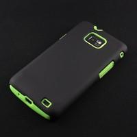 2 In 1 PC+silicone Matte Case for Samsung Galaxy S2 i9100