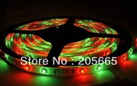 ree Shipping 5M Non Waterproof SMD 300 Led RGB Strip Light +24 key IR controller + 12V 3A power supply