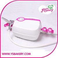 Portable Makeup Airbrush Mini Air Compressor with Spray Gun kit 5 Speed Airbrush tattoos cake bakery 24h Working FREE SHIPPING