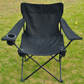 Free Shipping Outdoor folding chairs Folding Hunting Chair Camping Seat with Beverage Holder(China (Mainland))