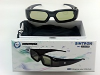 [Sintron] 3D Active Glasses eyewear for Panasonic TV TX-P42UT30 TX-L32DT35 TC-P54VT25 TC-P50GT25 TC-P46ST30 TH-P55UT30 New